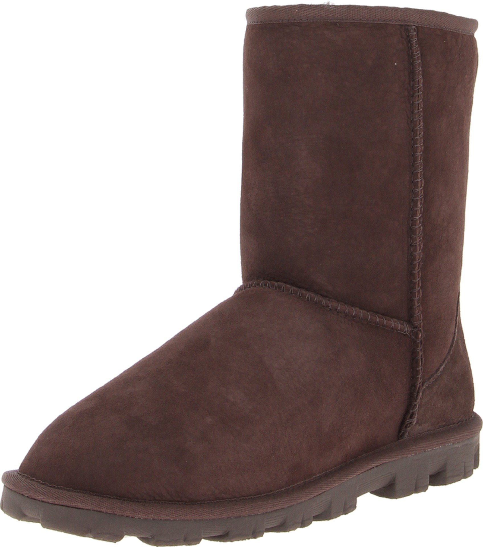 UGG Women's Essential Short Chocolate Boot 6 B - Medium by UGG