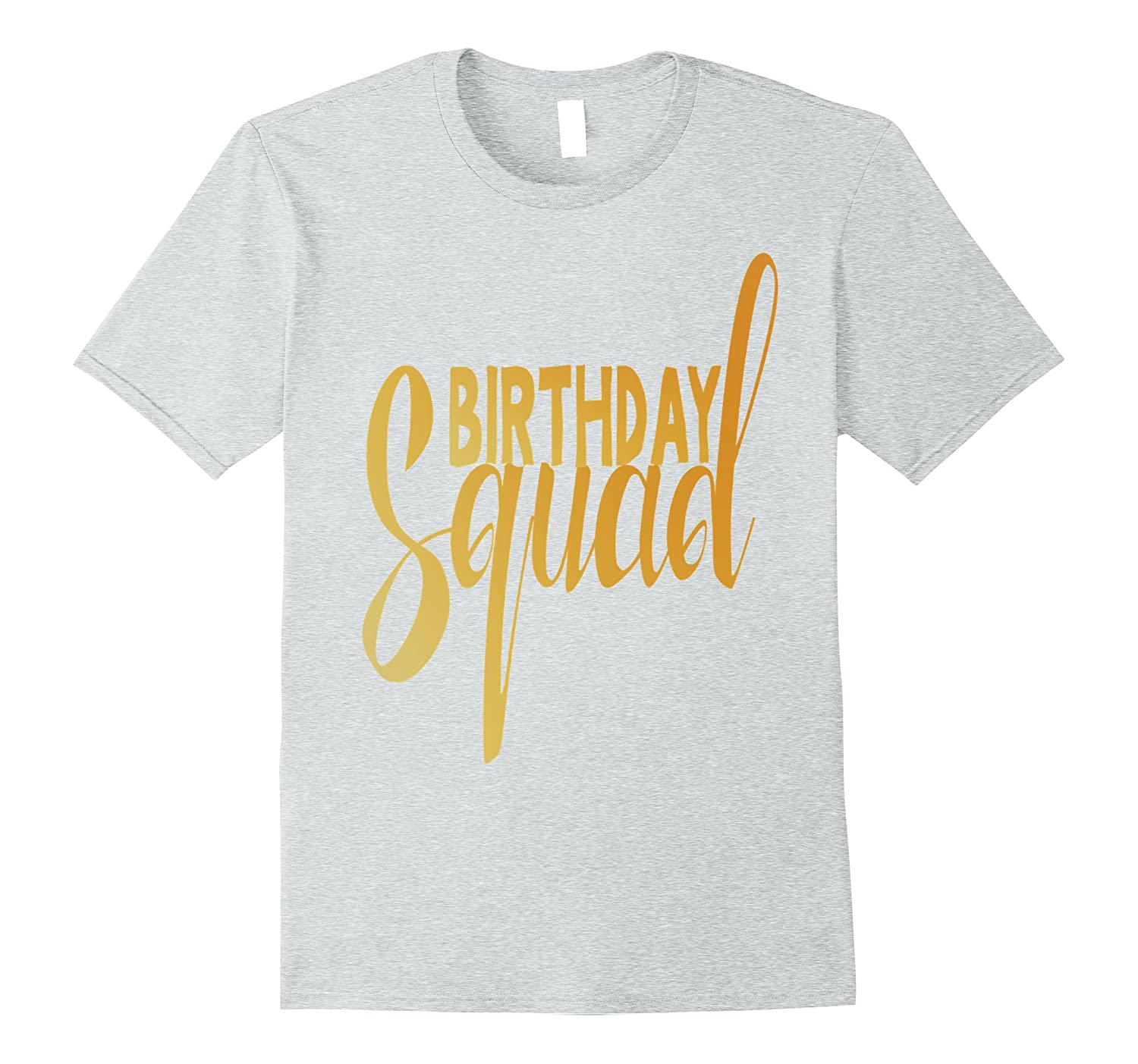 Birthday Squad Shirt Family T Gift ANZ