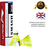 Li-Ning Smash Nylon Shuttle, Pack of 6