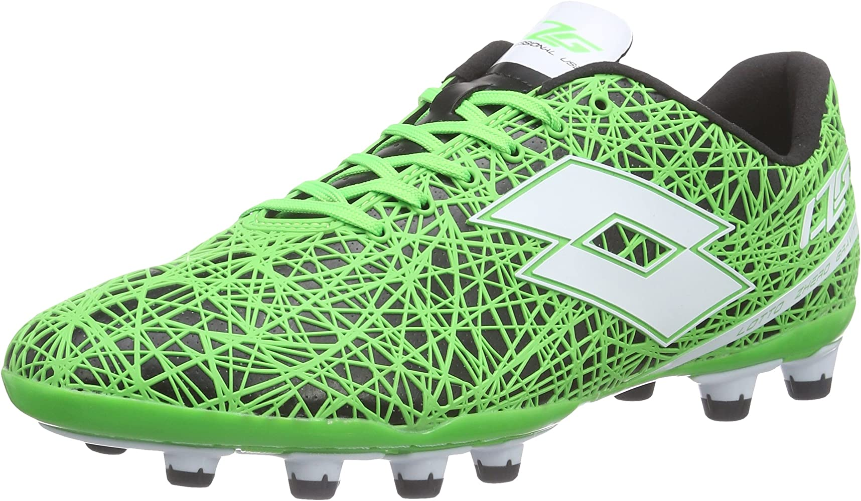 Lotto Men's LZG VII 200 FG Football Boots, Multi Coloured