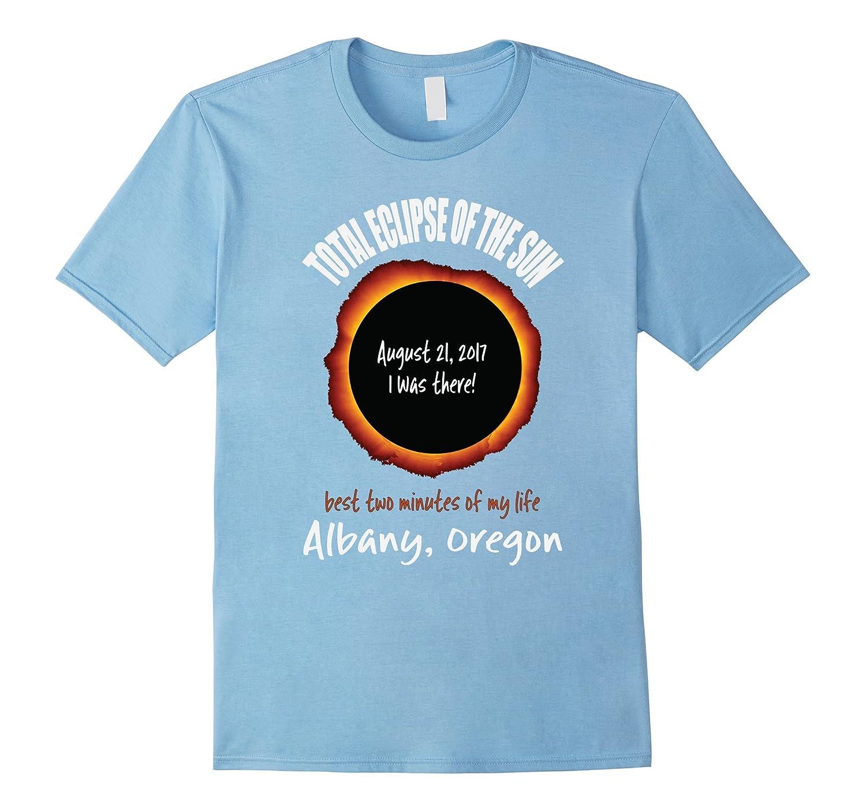 Albany, Oregon 2017 Eclipse Souvenir T Shirt-Art