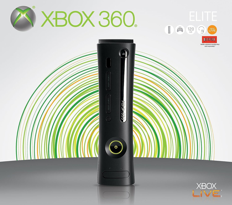 Amazon Com Xbox 360 Elite Video Games