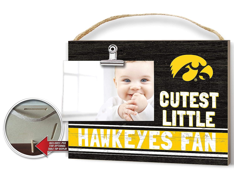 KH Sports Fan Clip It Colored Baby Logo Photo Frame Iowa Hawkeyes