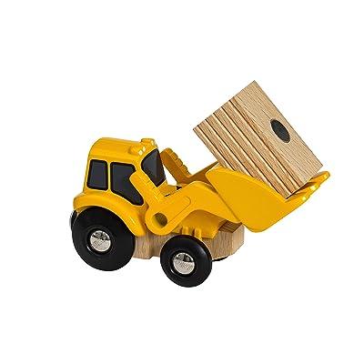 BRIO 33436 Tractor Loader2020 [OCTOBER]: Toys & Games