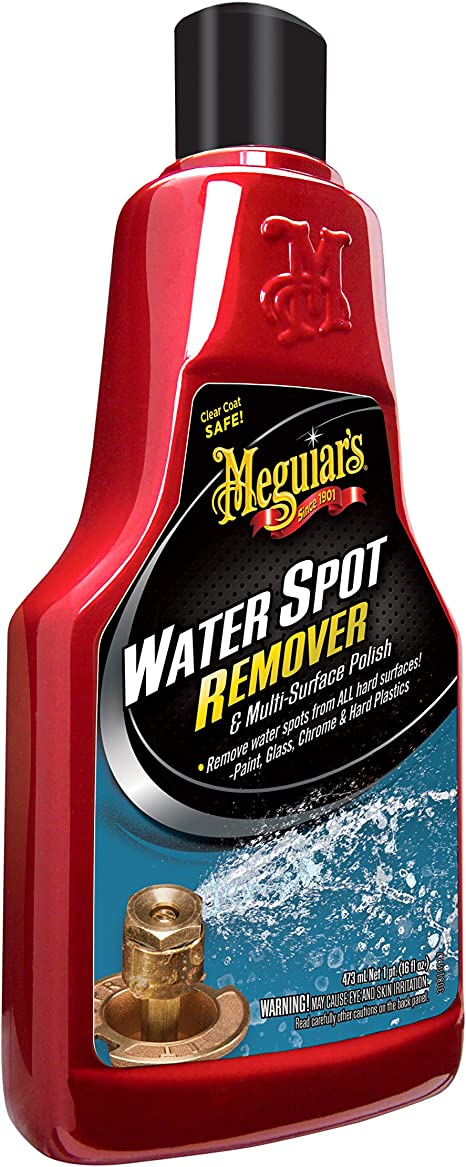 Meguiar S Water Spot Remover Water Stain Remover And Polish For All Hard Surfaces A3714 16 Oz