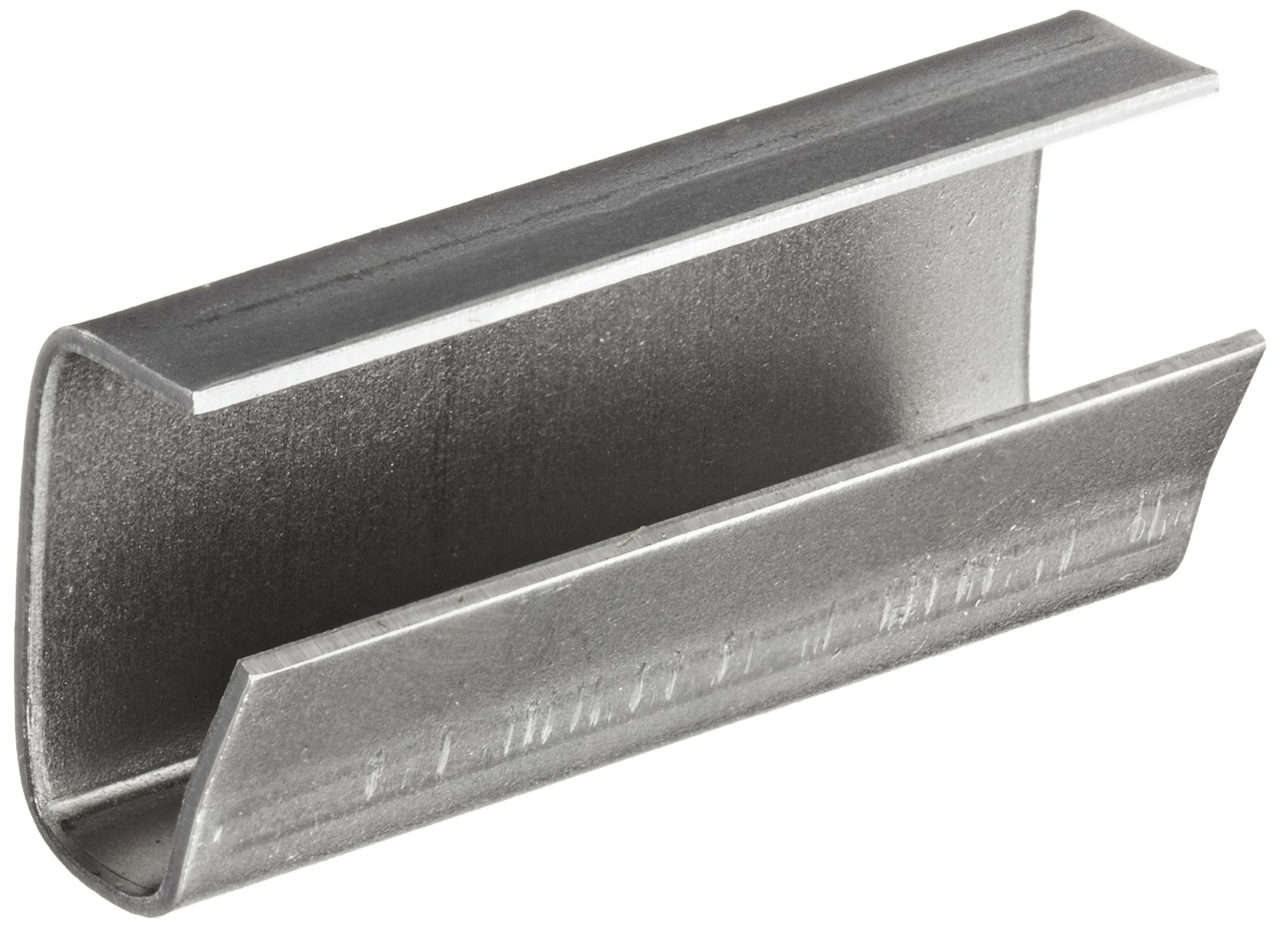PAC Strapping HSS-4A 1/2'' Serrated Seals for Polyester Strapping, for Combination Tools (Pack of 1000)