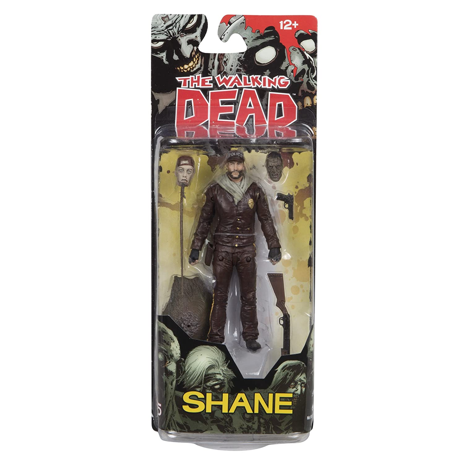 McFarlane Toys The Walking Dead Comic Series 5 Shane Action Figure 14643-1