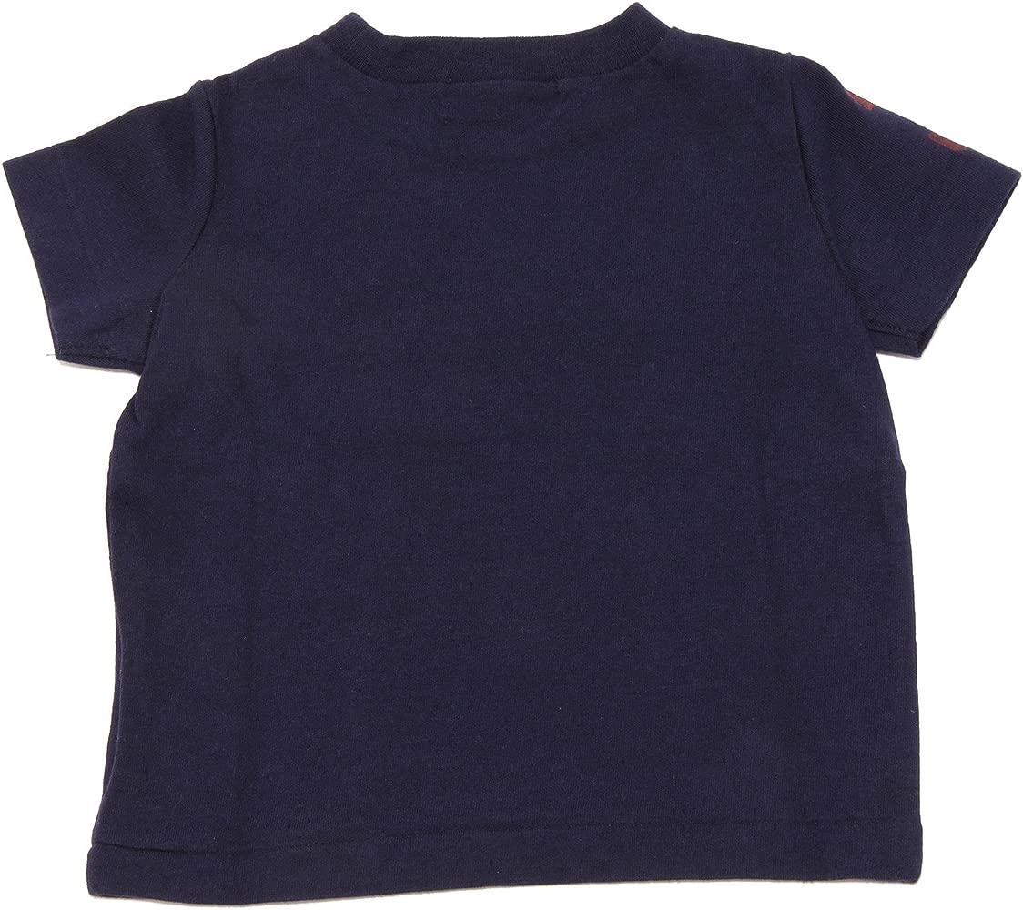 0327i Camiseta Niño Azul Polo Ralph Lauren Camisetas T-shirts Kids ...