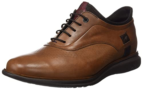 Fluchos- Retail ES Spain Tiger, Zapatos de Cordones Oxford para Hombre, Azul (Marino), 41 EU