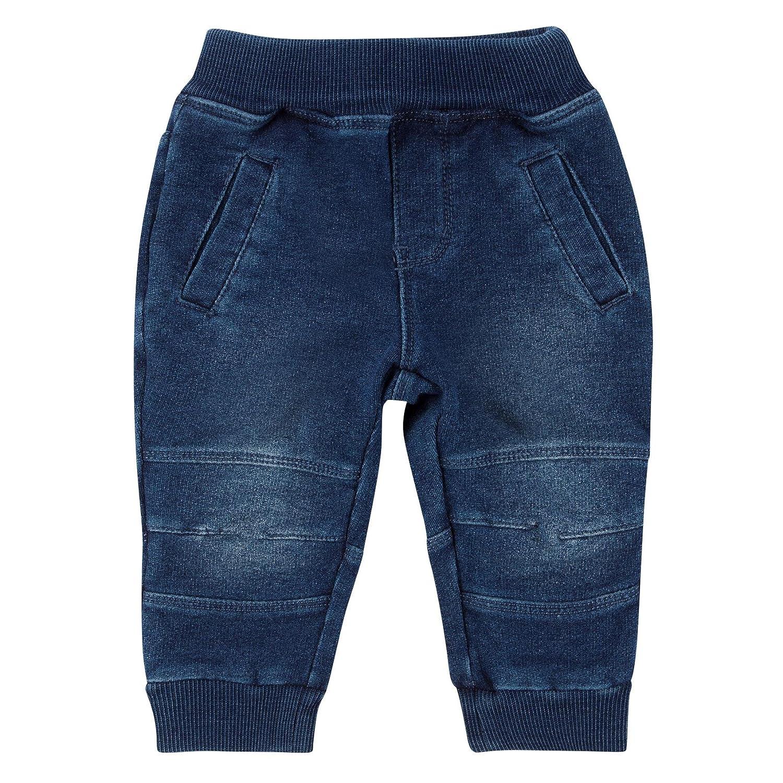 boboli 392048 - Pantalon Felpa Denim para Bebe - Niños color blue talla 3M