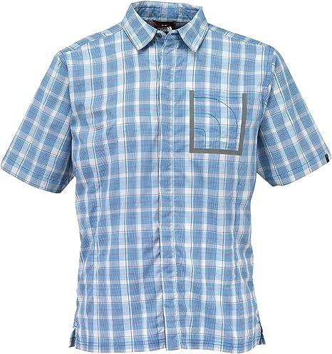 The North Face Camiseta para Hombre 1/2S/S Claire Lago Shirt-Voyage Azul: Amazon.es: Ropa y accesorios