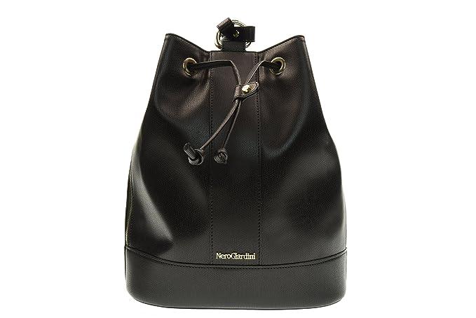 NERO GIARDINI mochila de la mujer con P743414D / 100 mangos UNICA Nero: Amazon.es: Ropa y accesorios
