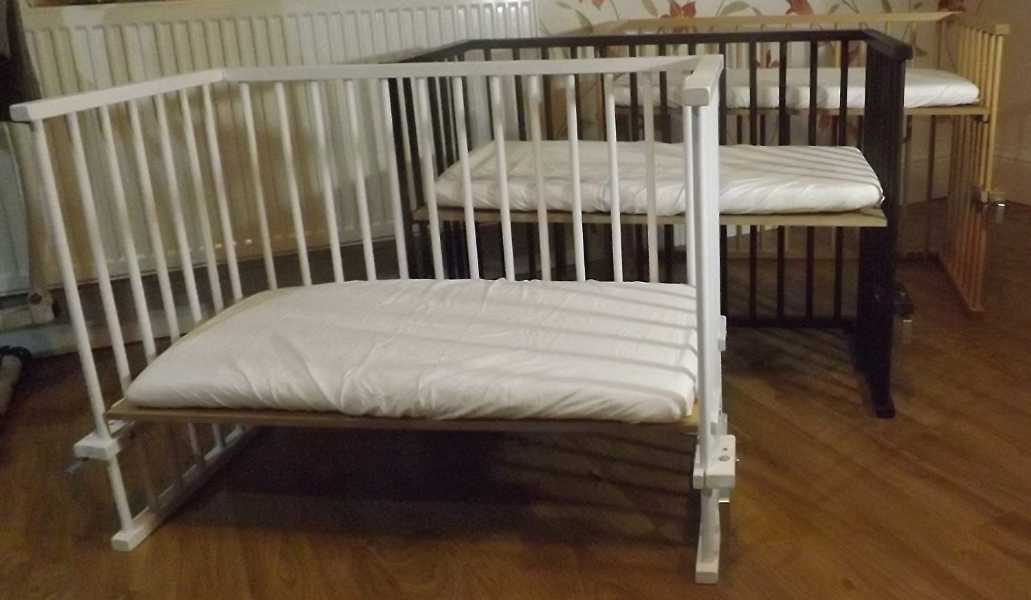 crib attached the to independent s connects that cribs best bed side me baby kid parents chicco next child