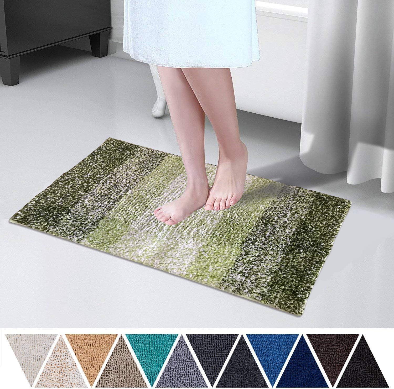 "15X23/"" Kitchen Bath Doormat Non-Slip Mat Rug Bathmats Carpet Happy Easter"