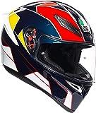 AGV(エージーブイ) バイクヘルメット フルフェイス K1 PITLANE BLUE/RED/YELLOW (ピットレーン) M (57-58cm) 028192IY003-M