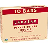 Larabar Gluten Free Bar, Peanut Butter Cookie, 1.7 oz Bars (10 Count), Whole Food Gluten Free Bars, Dairy Free Snacks