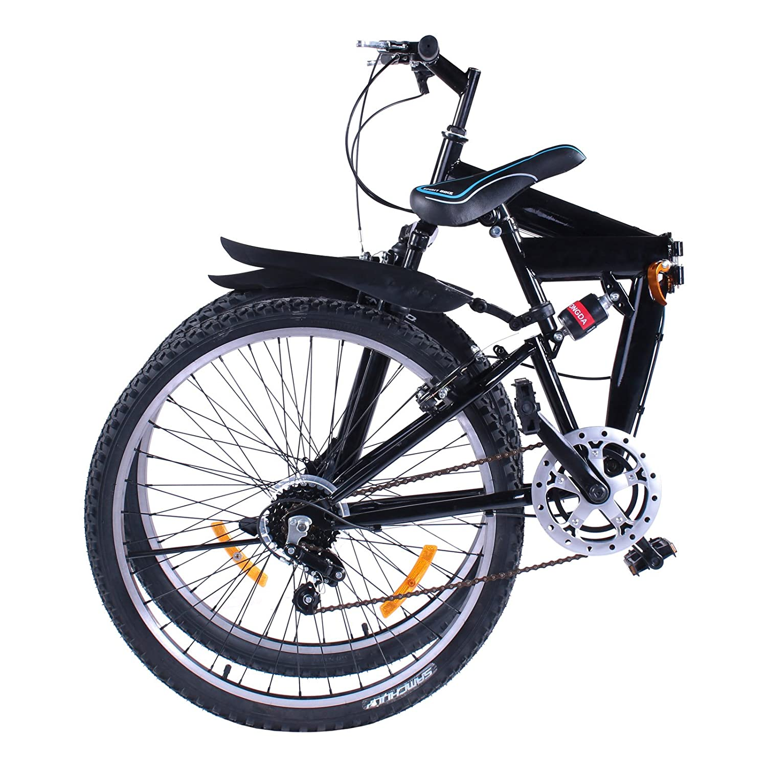 VEVOR Folding Mountain Bike