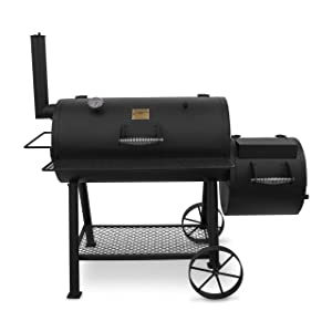Oklahoma Joe's Highland Offset Smoker - best offset smoker