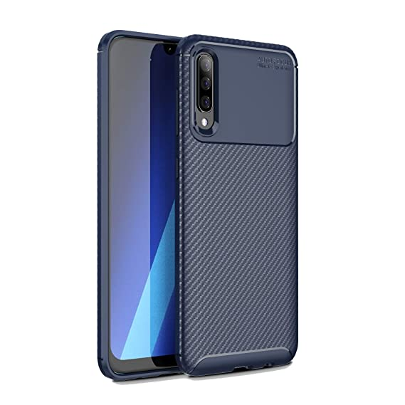 Amazon.com: DAMONDY Galaxy A70 Case,Carbon Fiber Texture ...