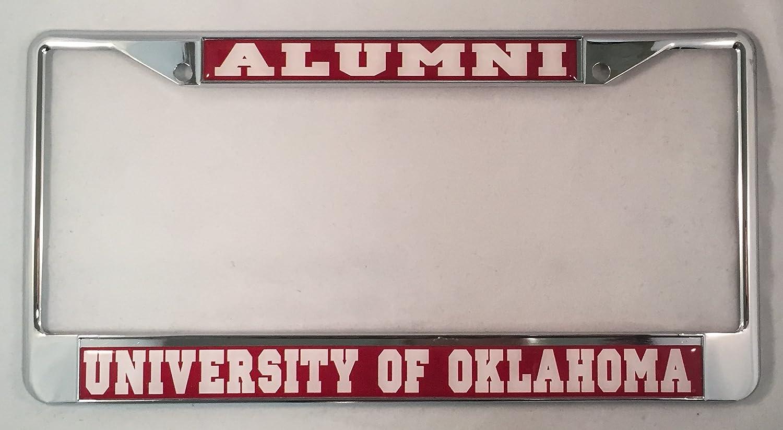 University of Oklahoma Alumni License Plate Frame Desert Cactus