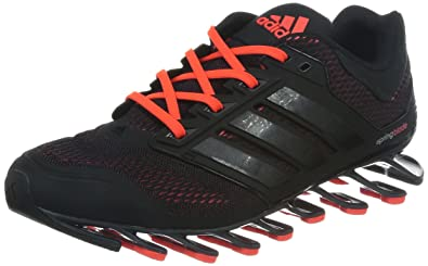 adidas Men's Springblade Drive M Cherry Black and Solar Red Polyester  Running Shoes ...