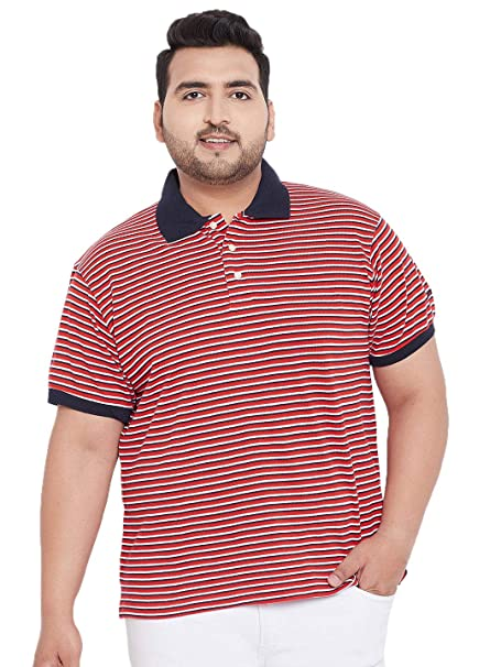 Bigbanana Men's Cotton Polo T-Shirt (Cannes,