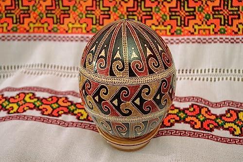 Painted Beautiful Handmade Ostrich Egg Gift Ideas
