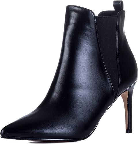 Heel Stiletto Chelsea Ankle Boots