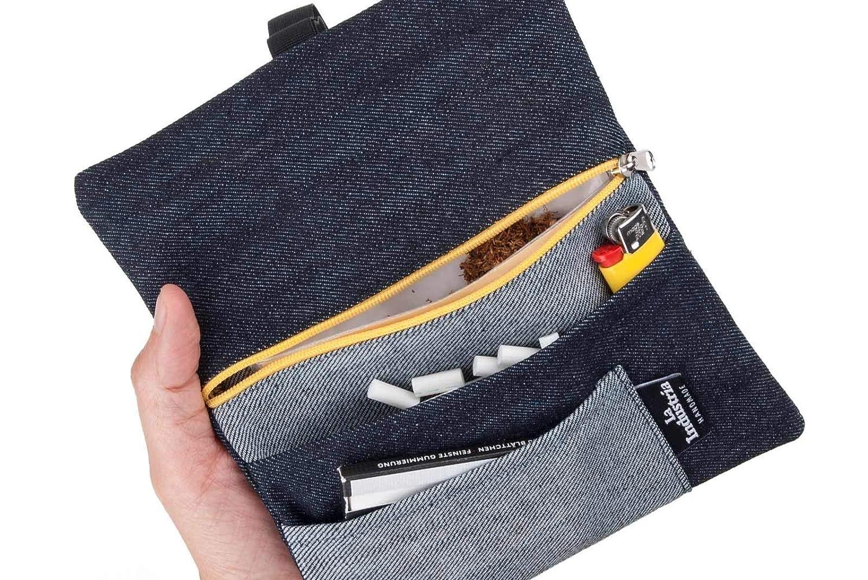 Astuccio borsello portatabacco Jeans - Porta tabacco Black Denim