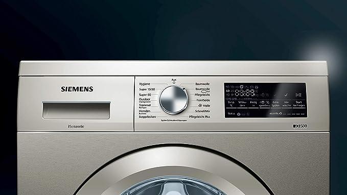 Siemens IQ500 WU14Q4S1 Lavadora/ 8 kg/A+++/135 kWh/paquete rápido ...