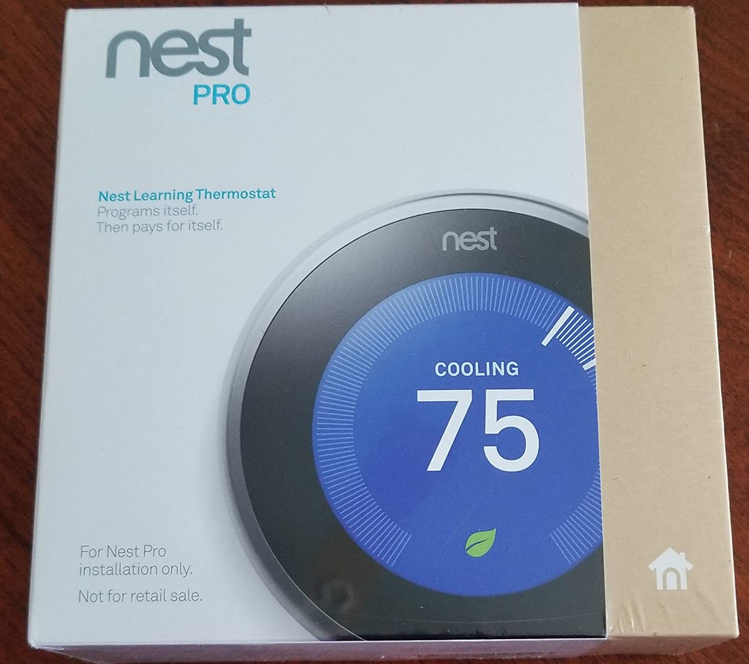 TopOne Nest Thermostat WiFi Learning 3rd Generation T3008US Stainless Steel
