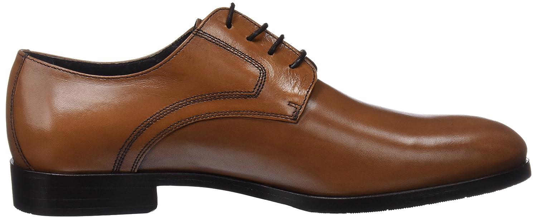 Kingsley 1326-1855PYM, Zapatos de Cordones Derby para Hombre, Marrón (Cuero), 42 EU Martinelli