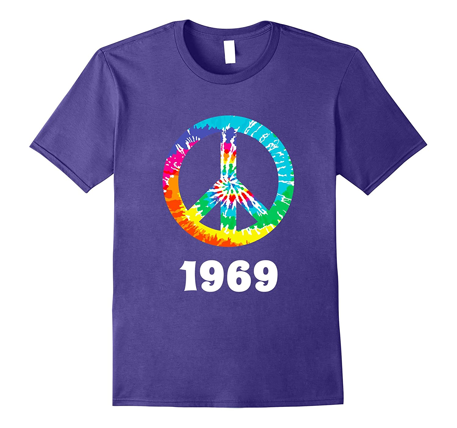 1969 Peace Sign Hippie T Shirt-RT