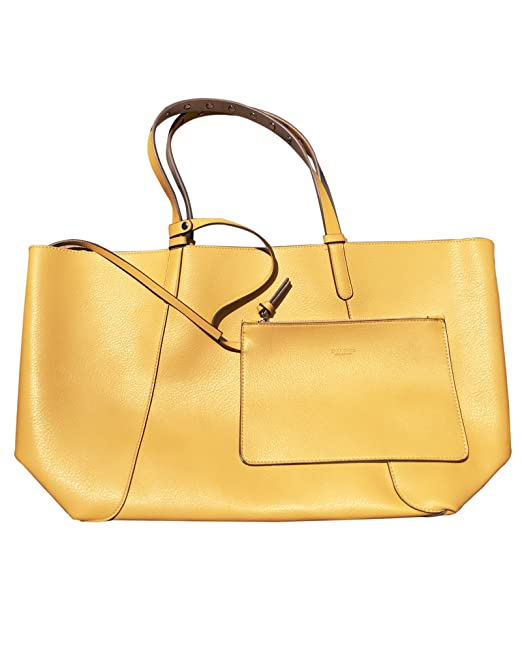 Zara - Bolso mochila para mujer amarillo amarillo M: Amazon.es: Ropa y accesorios