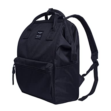 Amazon.com  Canvas School Backpack 49bb3d16ac00c