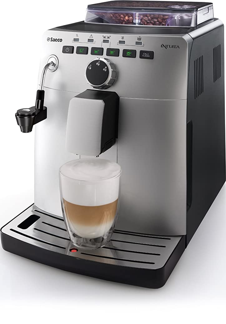 Saeco HD8750/81 Machine à Espresso Intuita Silver: Amazon.fr ...