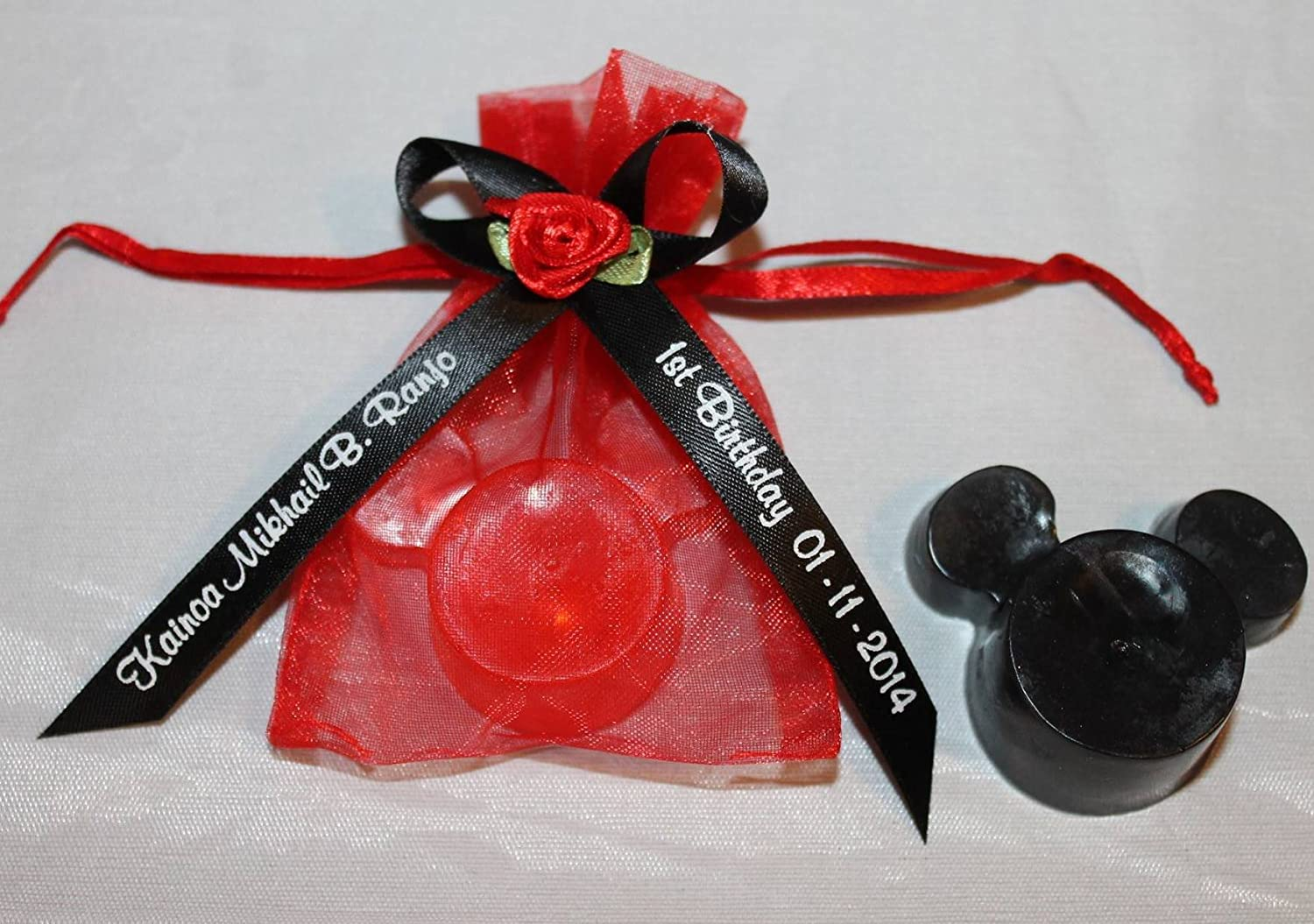 Amazon 25 Red Mickey Mouse Minnie Mouse Soap Party Favors