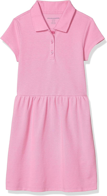 Essentials Big Girls Short-Sleeve Polo Dress