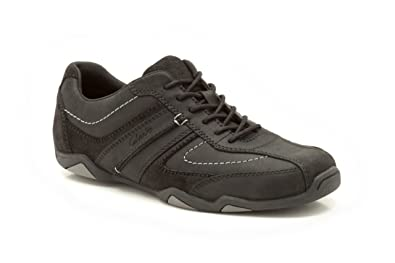clarks mens wide fit trainers