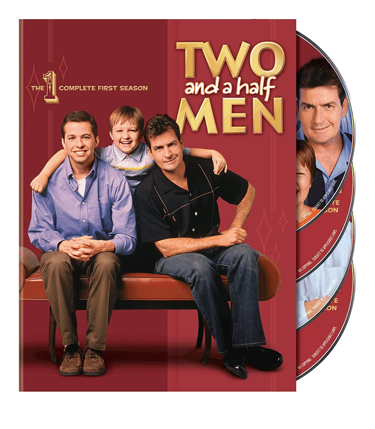 Two and a Half Men: The Complete First Season Jon Cryer Angus T. Jones Conchata Ferrell Charlie Sheen