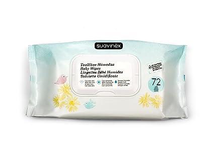 Suavinex 3251827 - Toallitas húmedas, 72 unidades