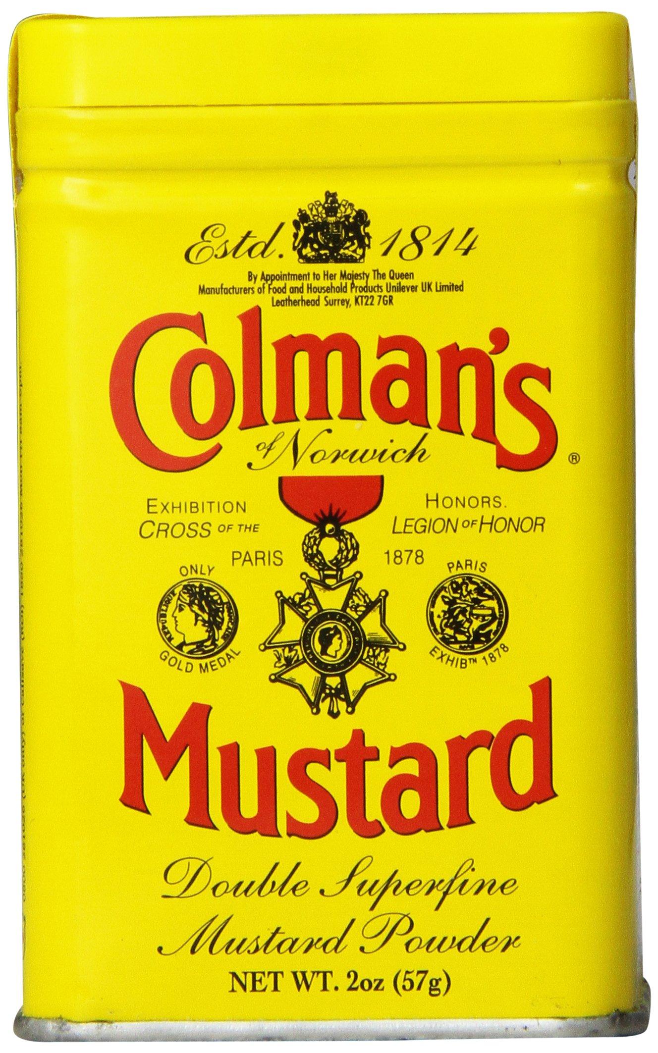 Colman's Colman's Original English Mustard Powder, 57 g