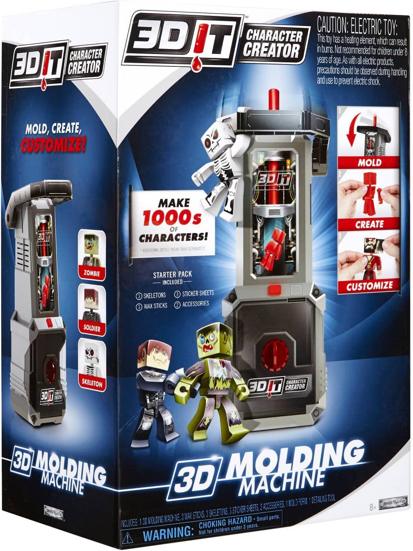 Amazon.com: 3DIT Character Creator Molding Machine: Toys & Games