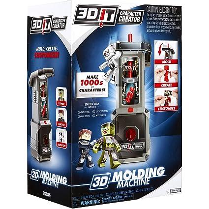 Amazon com: 3DIT Character Creator Molding Machine: Toys & Games