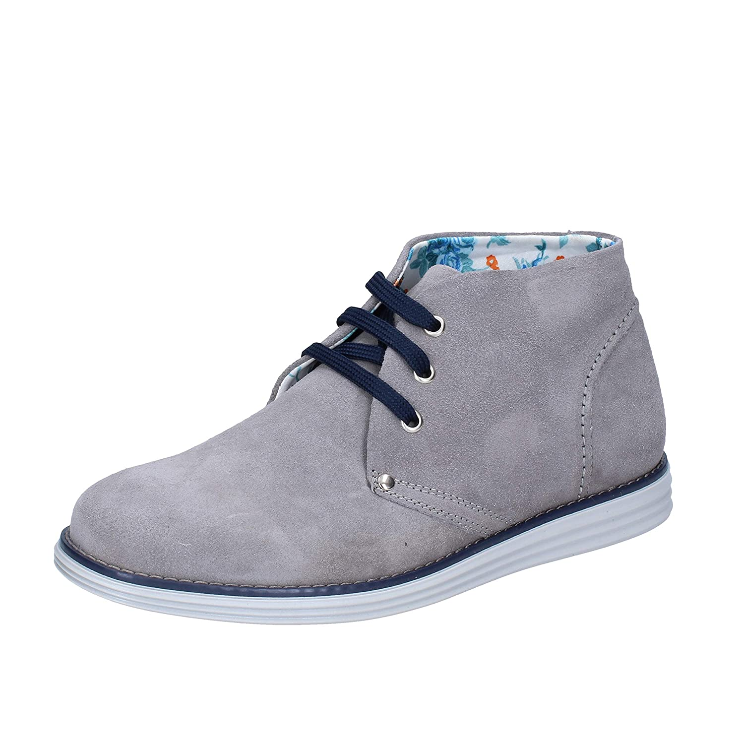 - AT. P. CO. Boots Womens Suede Grey