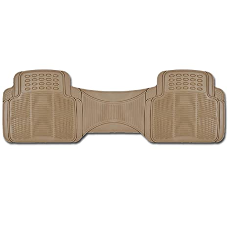 Bdk Mt781bg Car Mat 1 Piece Liner Trimmalbe Ideal For Rear Seat Floor Protection Beige