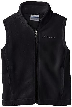 9d74d0aff Columbia Little Boys' Steens Mountain Fleece Vest, Black, XX-Small