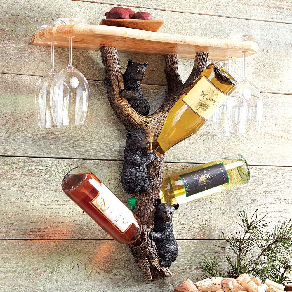 Bear Wine Holder Shelf
