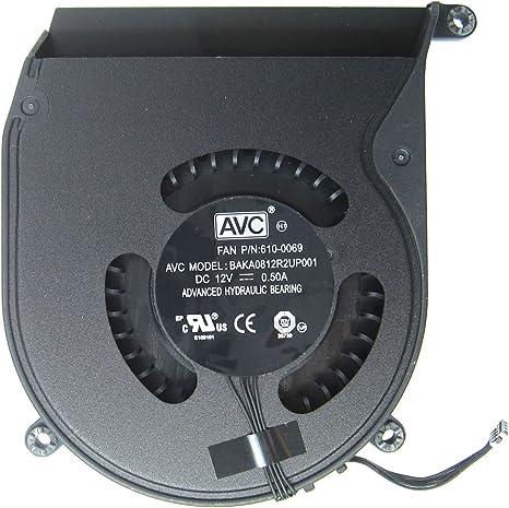 lefix CPU ventilador de refrigeración de repuesto para Apple Mac ...
