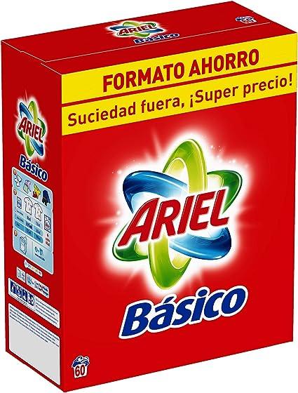 Ariel Básico Detergente En Polvo, Calidad A Un Precio Asequible ...